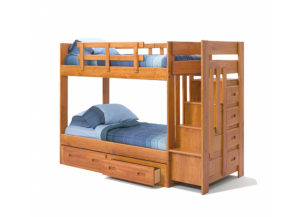 Heartland 2600 Staircase Bunkbed w/o Trundle