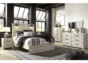 Ashley Cambeck Queen Bed, Dresser, Mirror, Chest, and Nightstand