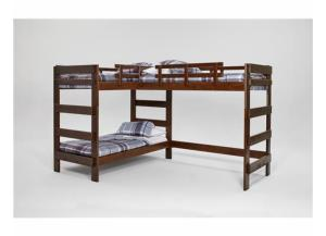 Heartland L-Shaped Bunkbed w/o Trundle