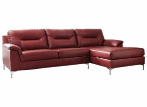 Image for Tensas Crimson Right Facing Sectional