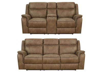 Morrisofa Jayden Power Reclining Sofa & Loveseat