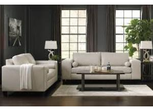 Nokomis Arctic Sofa and Loveseat