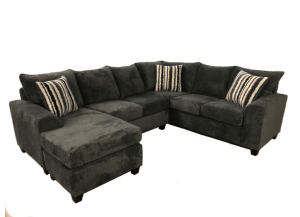Seminole Wesley Chocolate 3pc Sectional