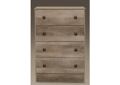 Kith Manslough Oak 4 Drawer Chest