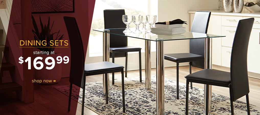 Dining Sets starting at $169.99