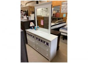 CLEARANCE-YOUTH DRESSER/MIRROR COMBO (UNADILLA)-$326 (WAS $419)