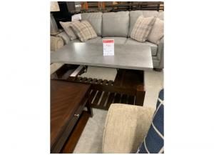 CLEARANCE-LIFT TOP COCKTAIL TABLE (N NORWICH)-$314 (WAS $349)