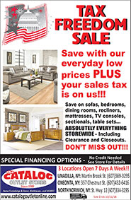 Tax Freedom Sale