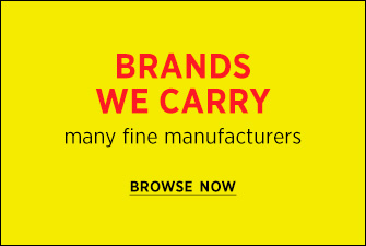 Browse Brands We Carry