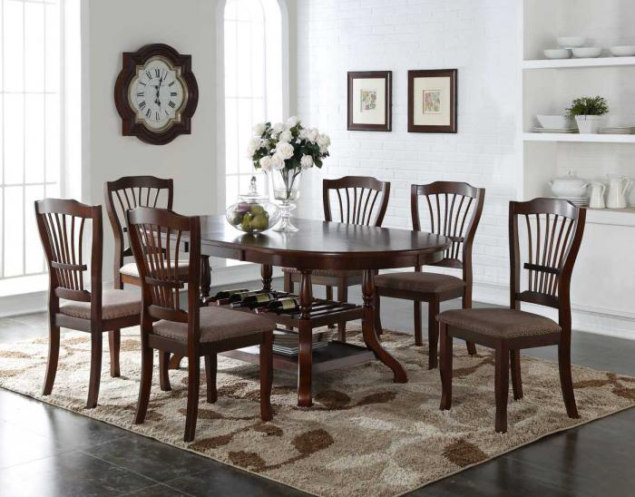 Quebec 5pc Dining Room ,Chertok's