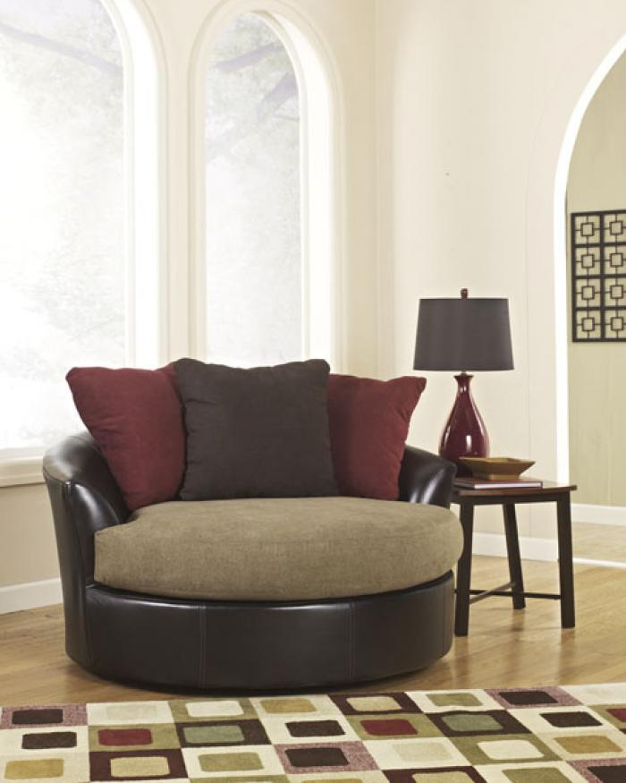 Round Swivel Fun Chair - 58 inches ,Chertok's