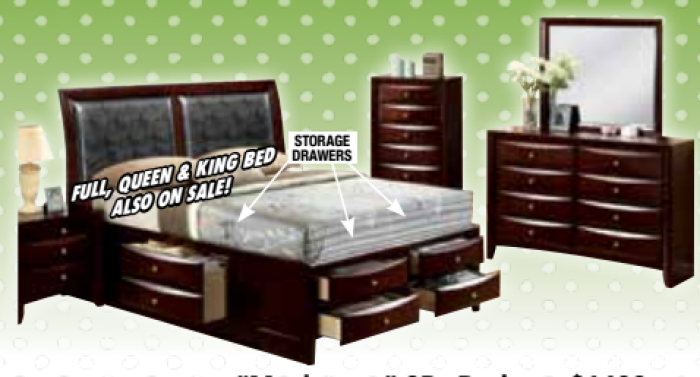 Manhattan storage bed,Chertok's