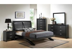 Crown Mark Maya Queen Platform Bed