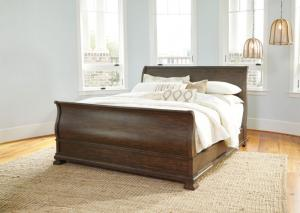 Image for Cochran Ash Queen Sleigh Bed