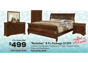Richelieu Queen Bed