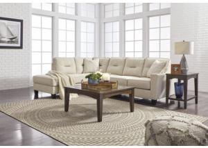 Nuvella Queen Sleeper Sectional