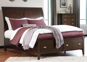 Malone King Storage Bed