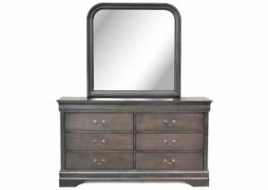 Cascade Dresser and Mirror