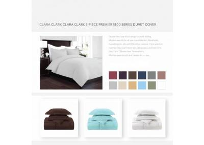 3 pc Duvet Cover 1800 Series King Cover