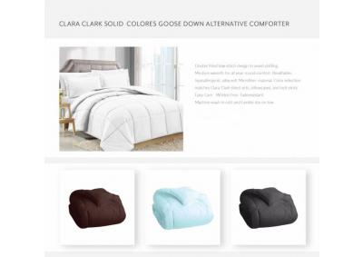 Queen Goose Down White Comforters