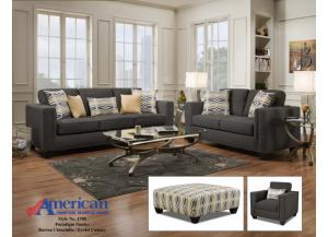 Paradigm Smoke Barto Sofa & Loveseat