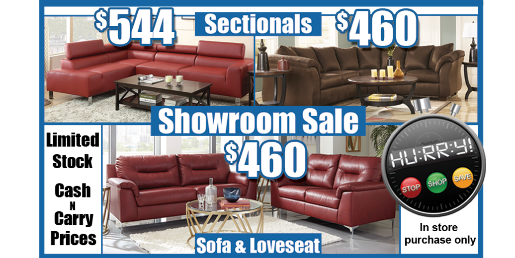 Showroom Furniture Sale