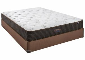 Image for Therapedic Backsense Nathaniel Firm Queen Mattress Set