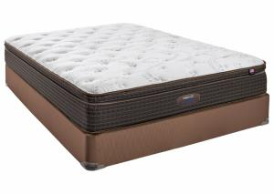 Image for Therapedic Backsense Nathaniel Euro-Top Queen Mattress Set