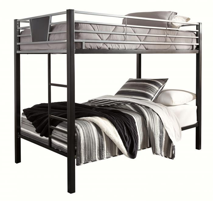 Dinsmore Twin Bunk Beds w/2 Twin Mattresses,In-Store Product