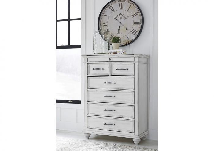 Kanwyn Whitewash Chest,In-Store Product