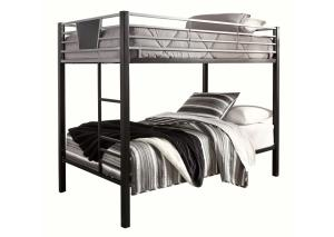 Dinsmore Twin Bunk Beds w/2 Twin Mattresses