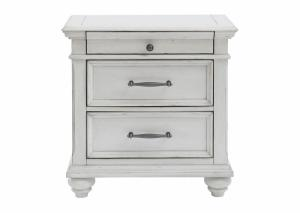 Kanwyn Whitewash Nightstand