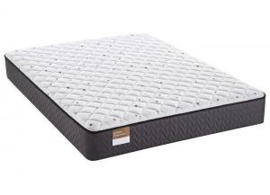 King Sealy Beauvior Plush Mattress w/Foundation