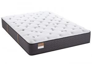 King Sealy Gilded Breath Mattress W/Foundation