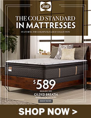 The Golden Standard in Mattresses