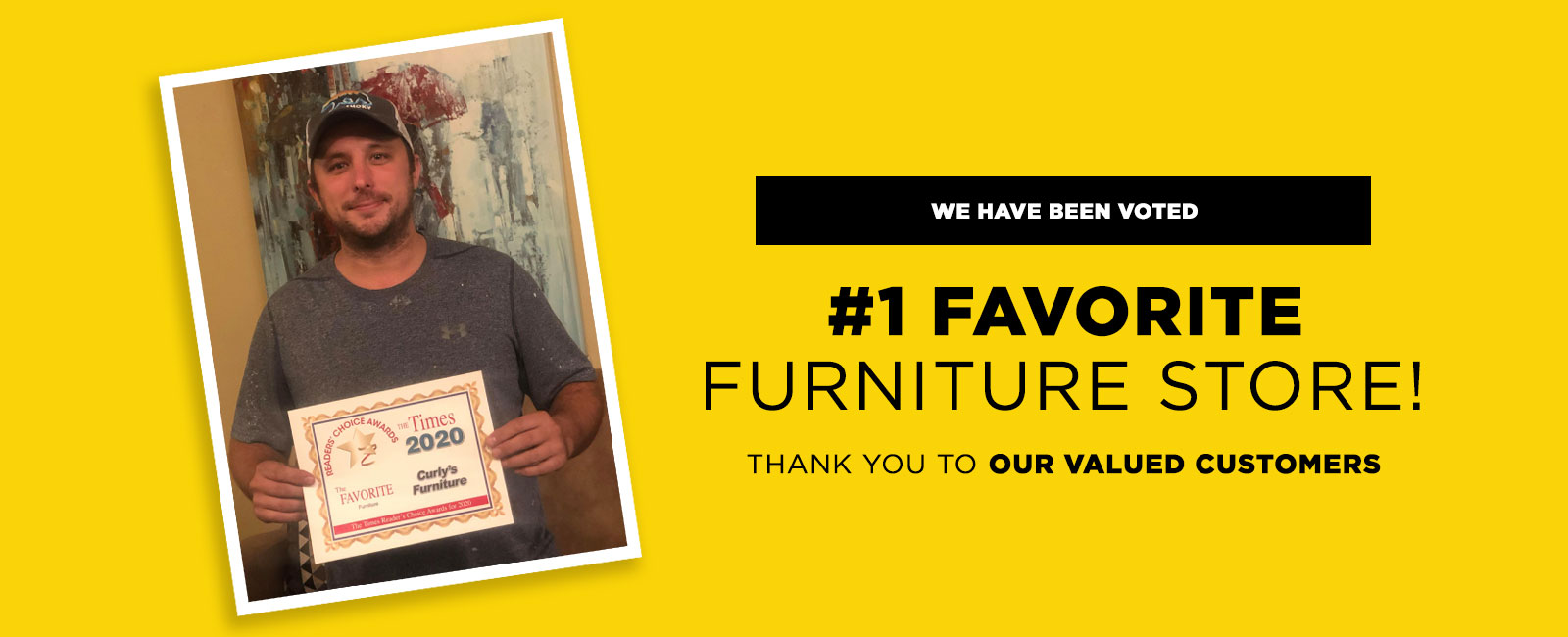 Voted #1 Favorite Furniture Store in 2020