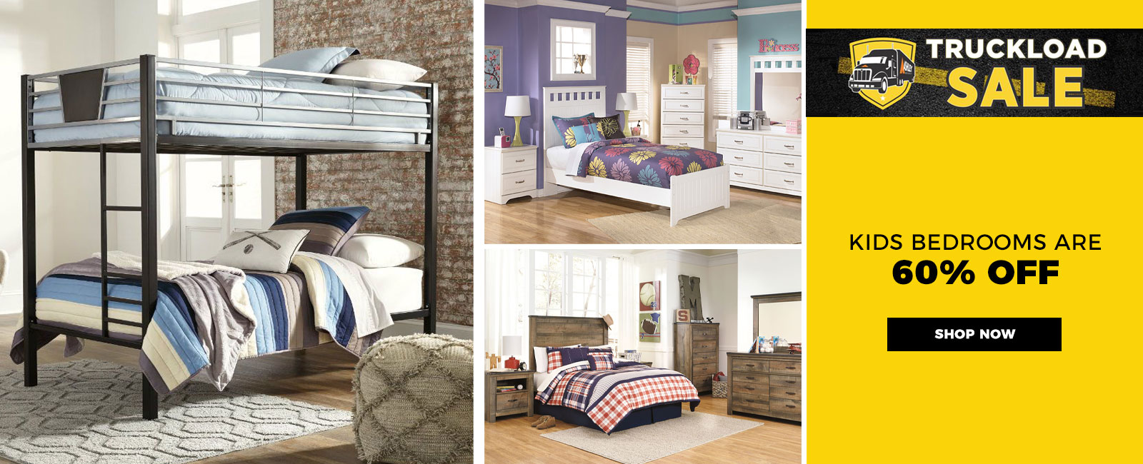 Kids Bedrooms 60% Off - Shop Now