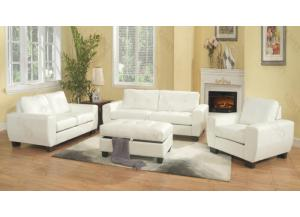 White Sofa & Love Seat