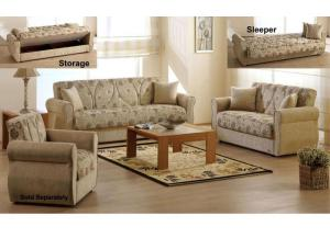 Melody Sofa & Love Seat Euro Sleeper