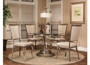 Jamison Taupe Chairs (Set Of 2)