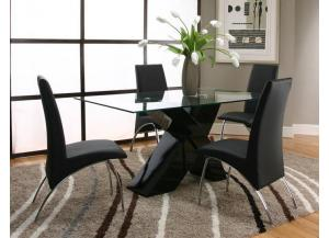 Mensa Black Dining Chairs (Set of 4)
