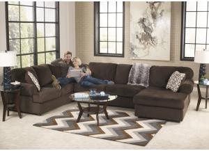 Jessa Chocolate 8PC Living Room Set