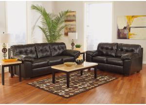 Alliston Chocolate 7PC Living Room Set