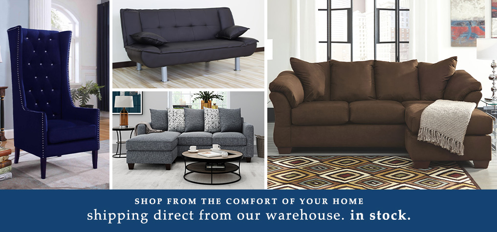 Shop from the Comfort of your home