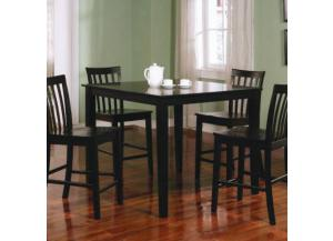 5PC: TABLE+4 CHAIRS