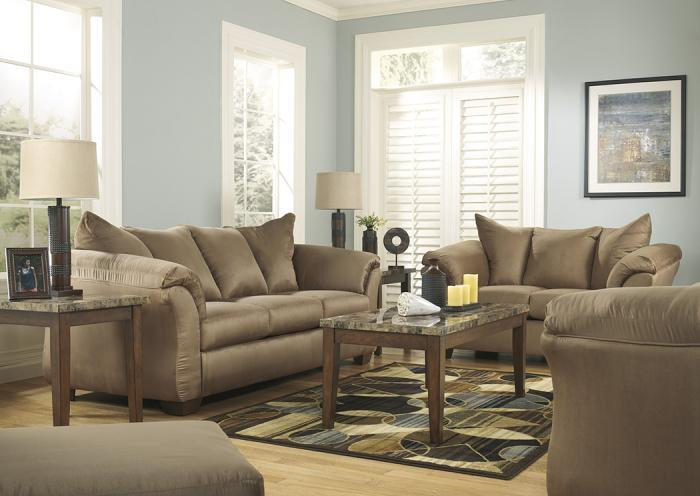 Darcy Mocha 13 Pc Living Room Set,In-Store Products