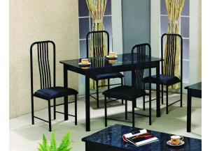 Marble Poly Top 5 PK Dinette Set