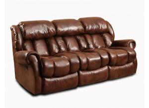 Espresso Double Reclining Sofa
