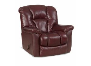 Burgandy Rocker Recliner