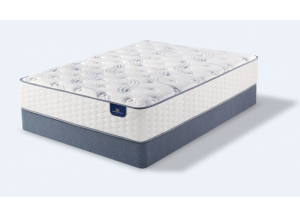 King Perfect Sleeper Richland Plush set  (Mattress & 2 Boxsprings)